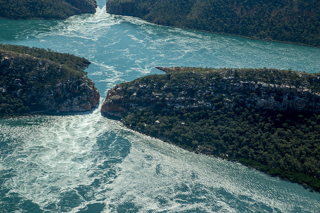 The Horizontal Falls (photo by Robyn Jay)