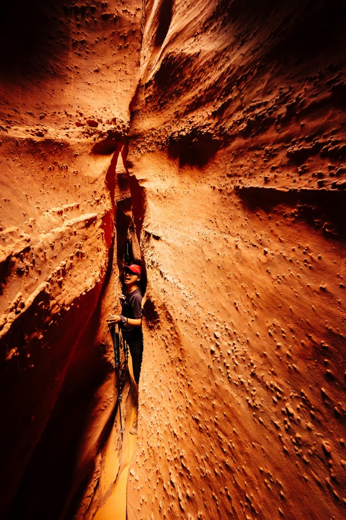 Peek-a-boo Gulch Canyon, Utah (photo by Robbie Shade)
