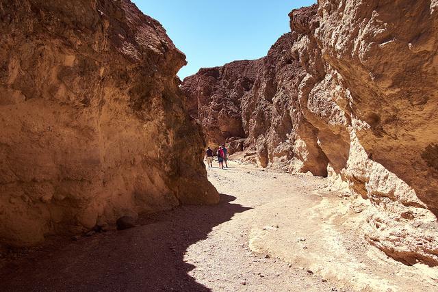Golden Canyon, Death Valley (photo by Kārlis Dambrāns)