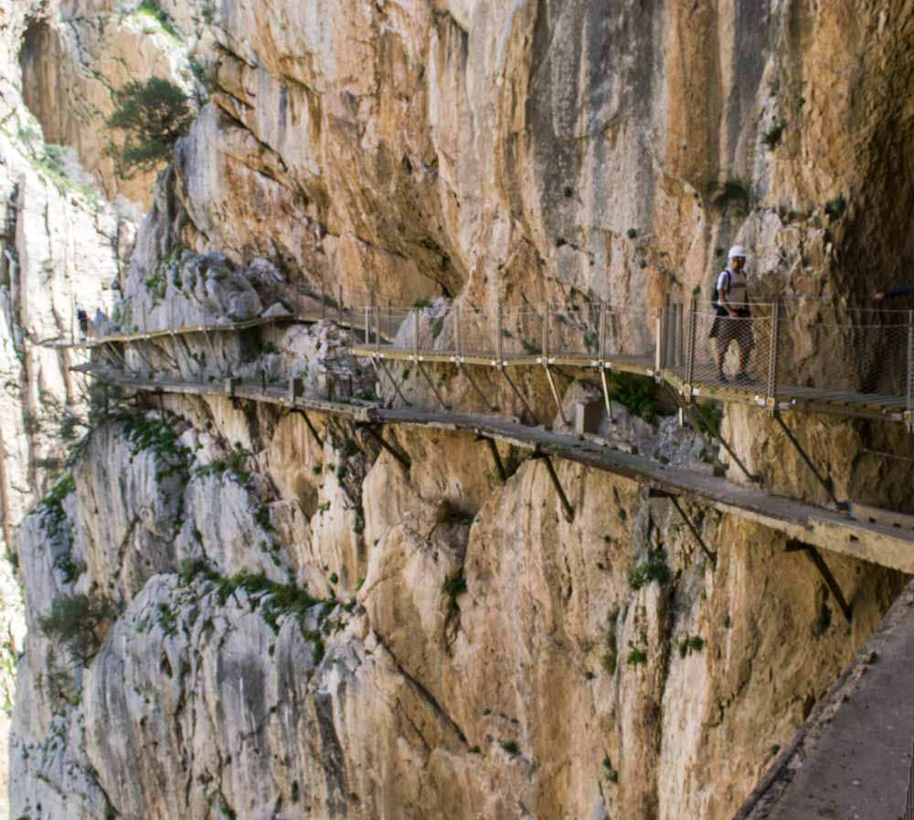 El Caminito del Rey, Spain (photo by Fotografía Viajera)
