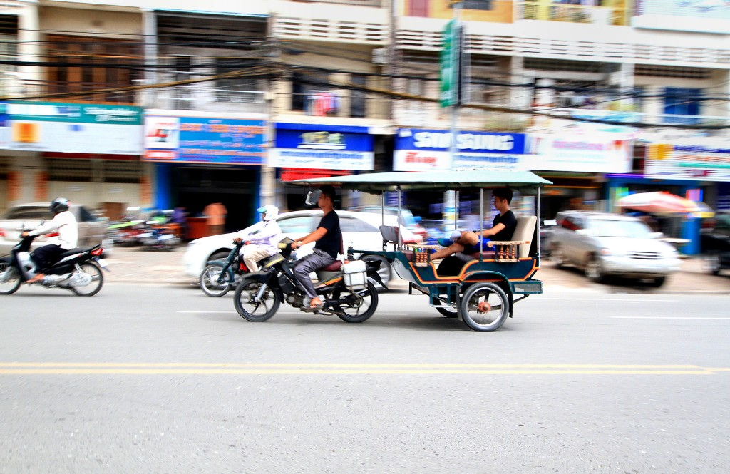 rickshaw types across India and Southeast Asia