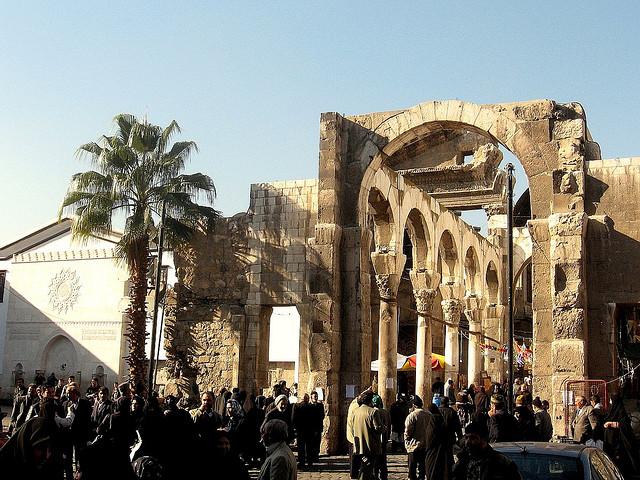 Jupiter Temple in Damascus - Franco Pecchio