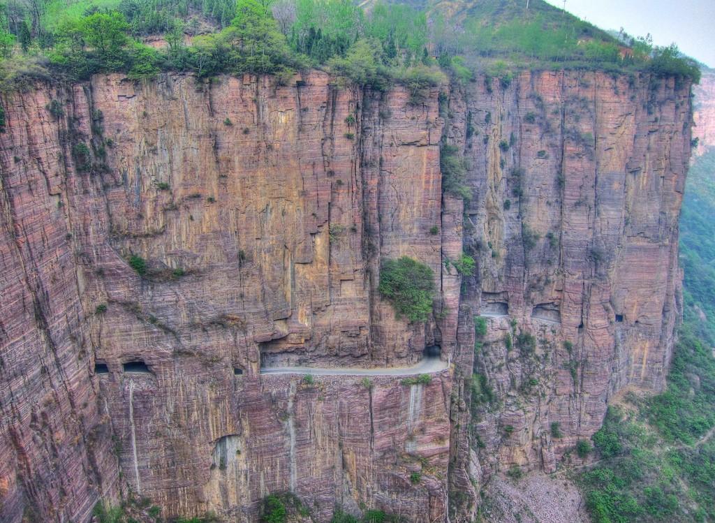 Guoliang Tunnel Road, China - Fang Chen