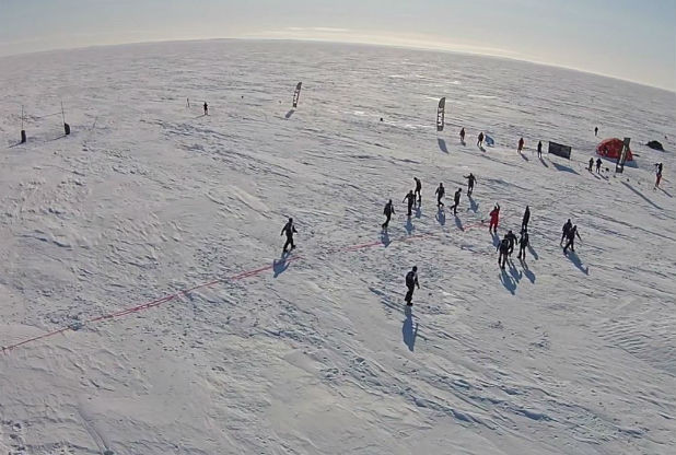 Arctic Rugby Challenge (Photo: Leicester Mercury)