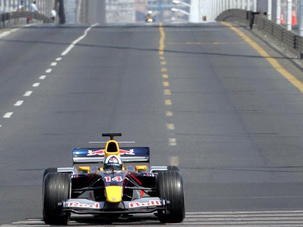 coulthard boğaz köprüsünde