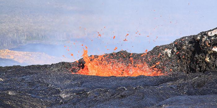 Kilauea Volcano (Photo by U.S. Geological Survey)