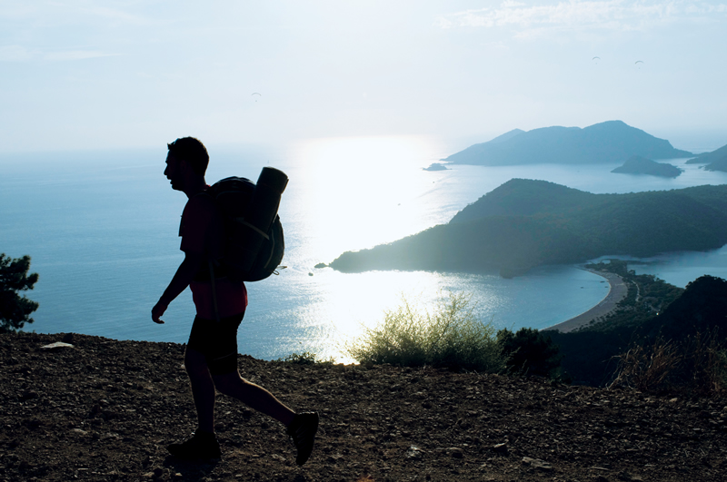 Lycian Way Ultra-Marathon (Photo by Ahmet Bilal Arslan)