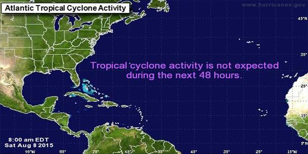 National Hurricane Center Forecast