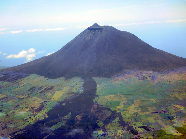 Mount Pico in the Azores (photo by David Stanley)