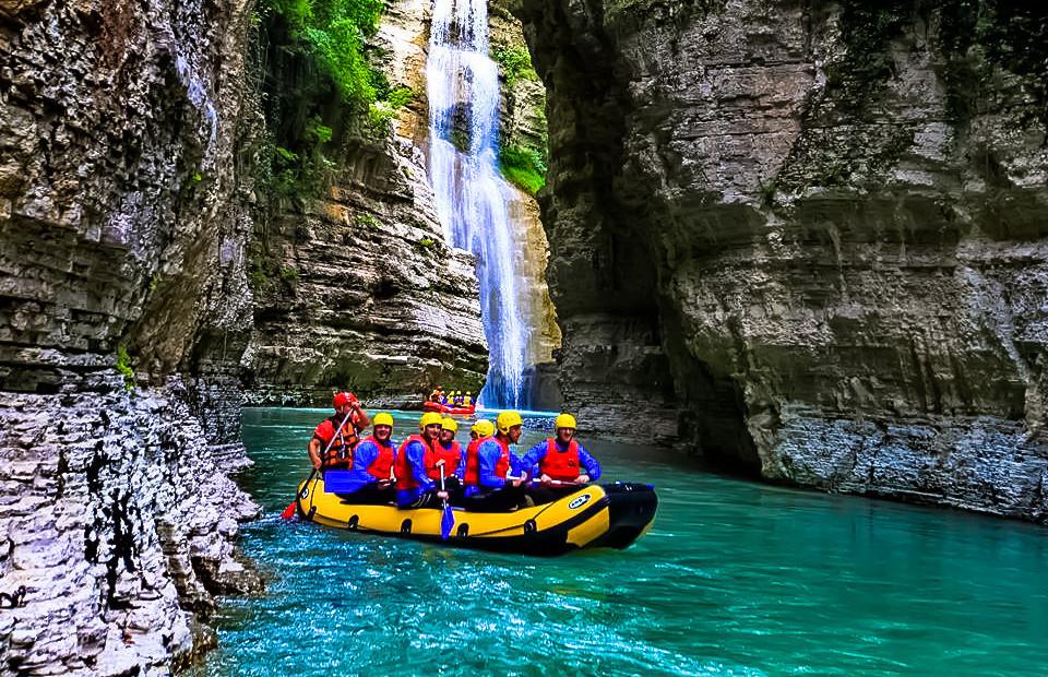 outdoor adventures in albania