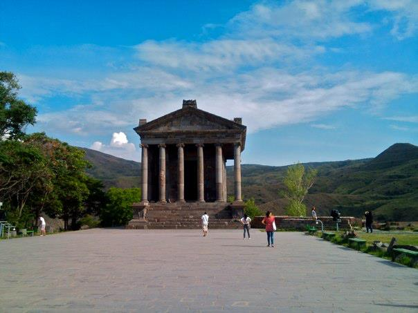 Garni Temple, built by the Romans in 1 AD (photo by the author)