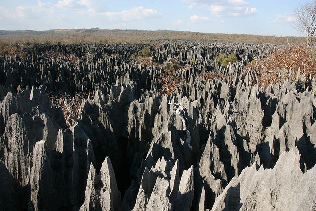 Tsingy de Bemaraha, Madagascar (photo by Marco Zanferrari)