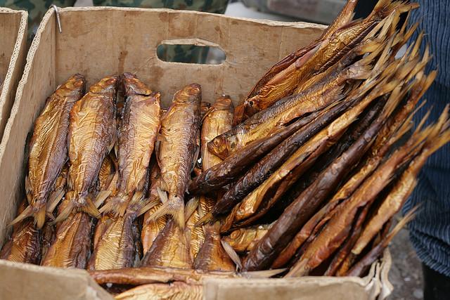 Smoked fish from Lake Sevan (photo from Arthur Chapman)