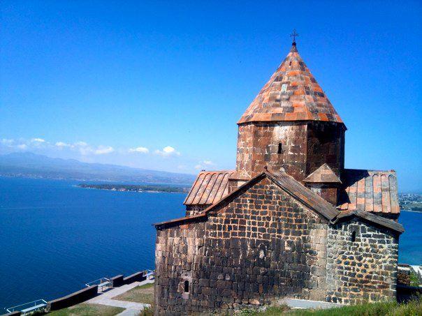 Sevanavank, Lake Sevan (photo by author)