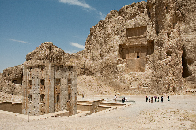 Naqsh-e Rustam, Shiraz-Iran (photo by Kamyar Adl)