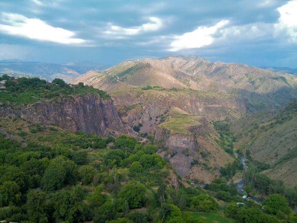 The Mountains around Garni Gorge (photo by author)