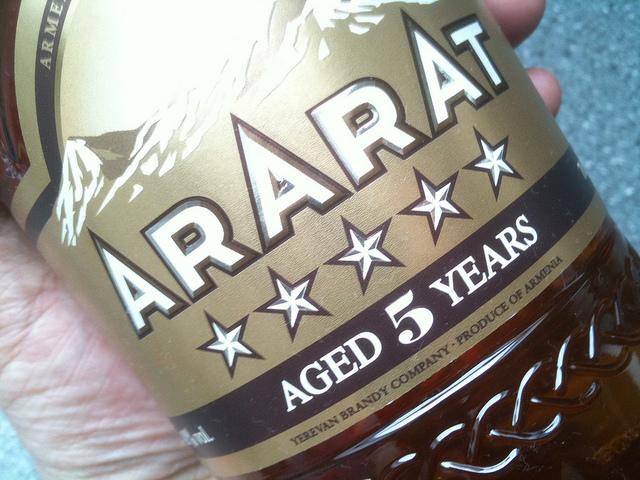 Ararat - Armenian brandy (photo by Morten Oddvik)
