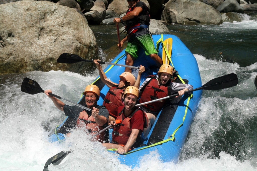 White Water Rafting in Costa Rica (photo by David Berkowitz)