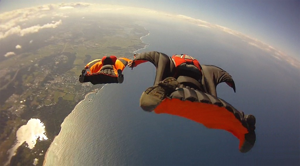 Wingsuit Flying (photo by Richard Schneider)