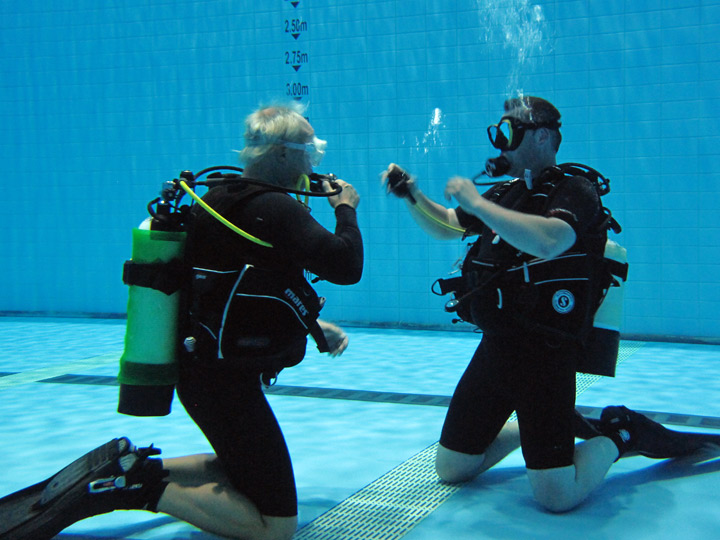 how to get your scuba diving license