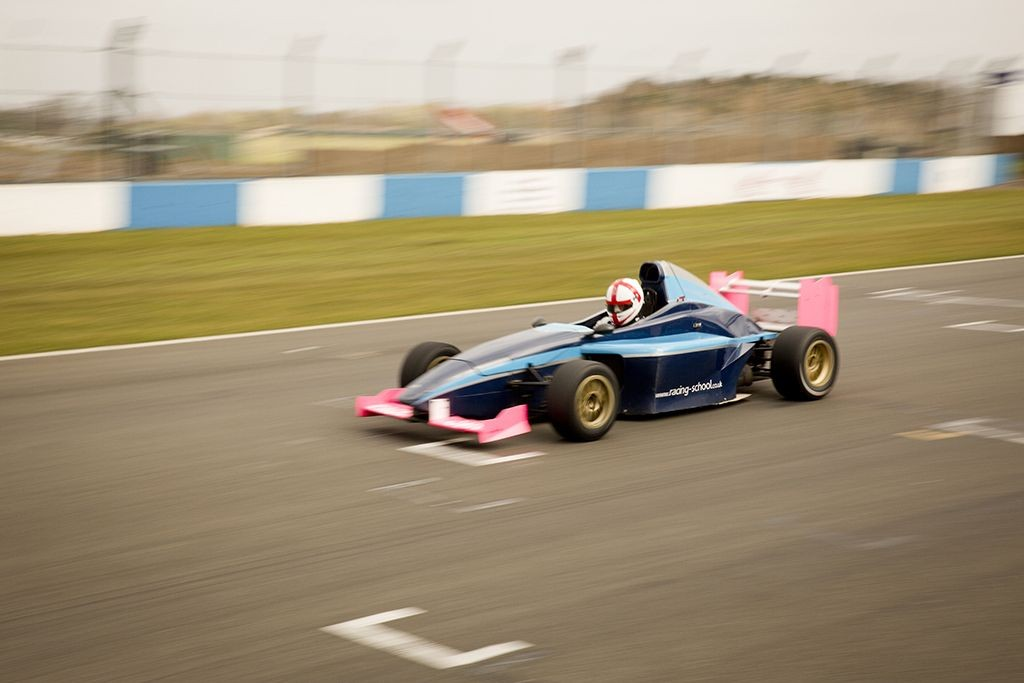 drive an F1 racing car