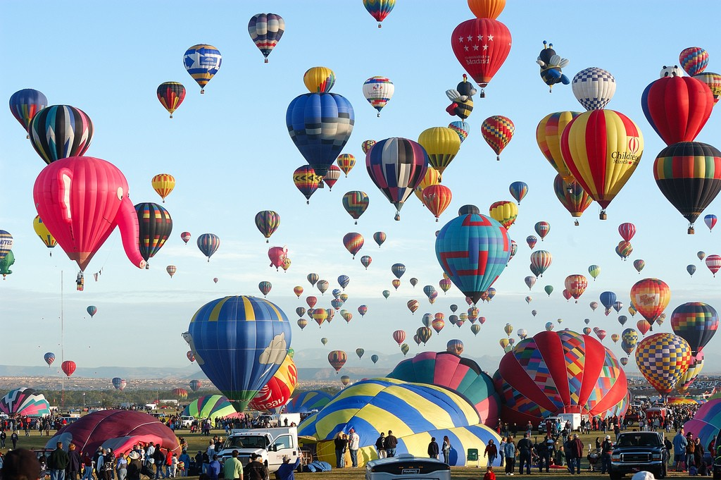Adventurous Hot Air Ballooning Spots