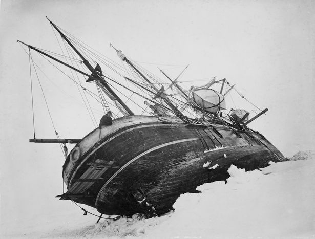 Ernest Shackleton's Endurance (Photo from - Mirror Online)