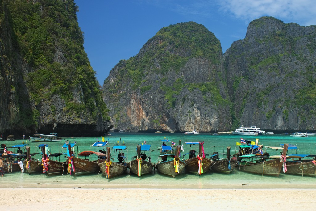 The Beach Movie Koh Phi Phi Thailand