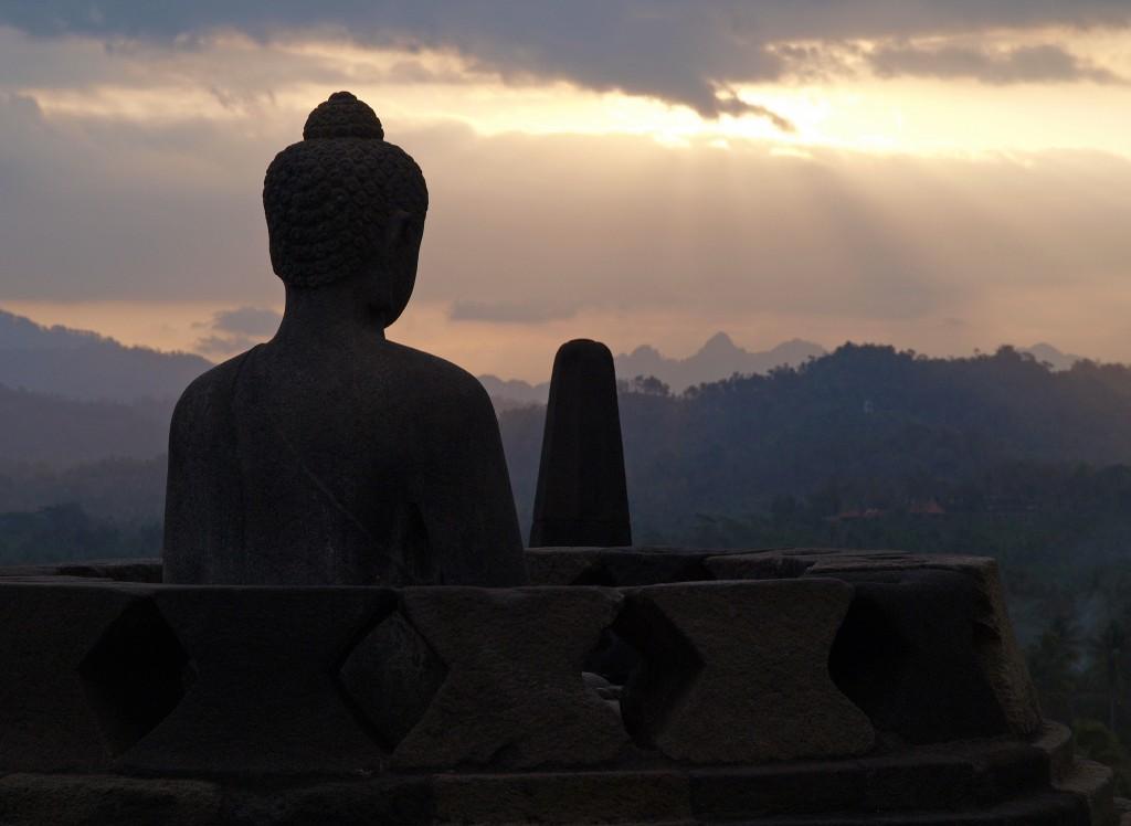 religious pilgrimages Borobudur Indonesia