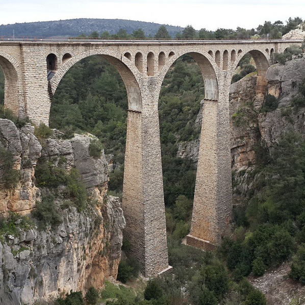 Varda Viaduct Turkey