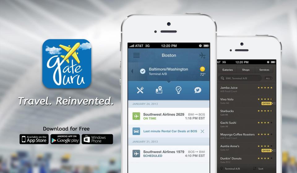 GateGuru Travel apps