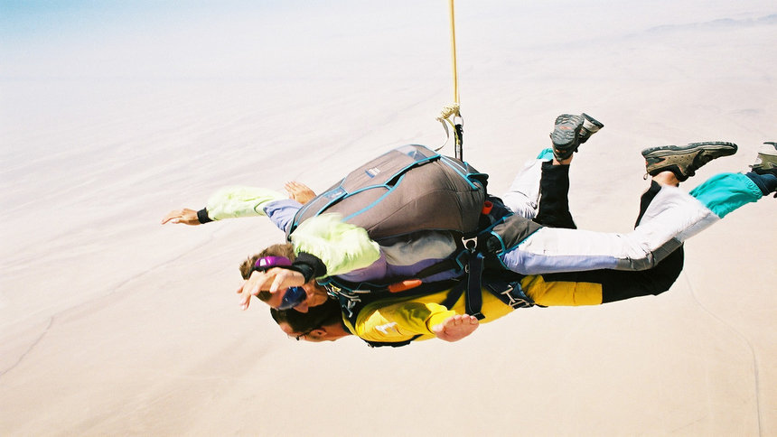Skydiving Namibia