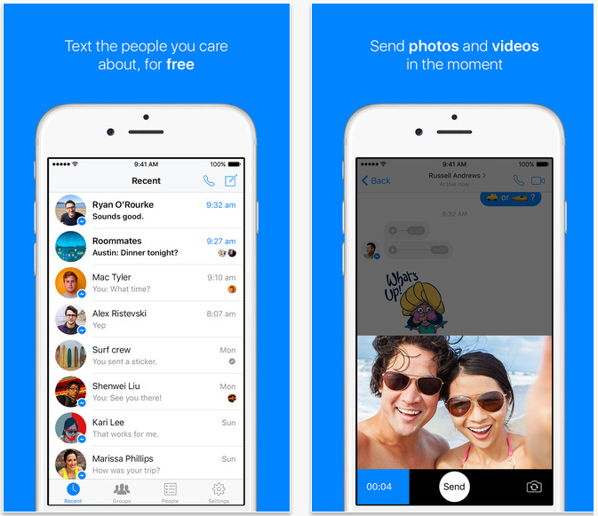 facebook messenger travel apps