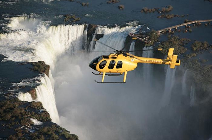 helicopter Iguazu Falls