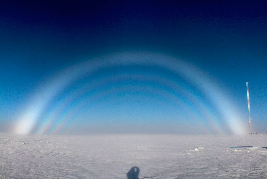 Fogbow_over_the_atmospheric_research_tower_at_Summit_Station,_Greenland