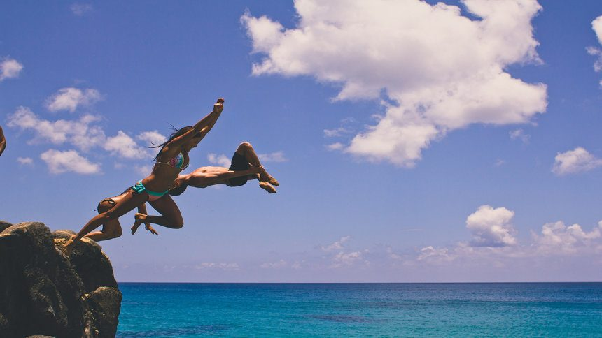 Cliff jumping the wildest cliff diving locations - The cliff dive ...